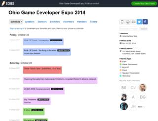 ogde2014.sched.org screenshot