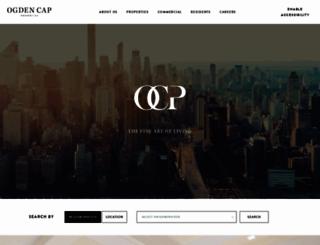 ogdencapproperties.com screenshot