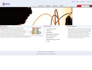 ogene.co.in screenshot