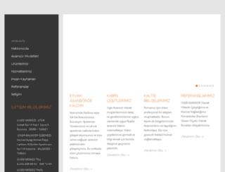 ogerasansor.com.tr screenshot