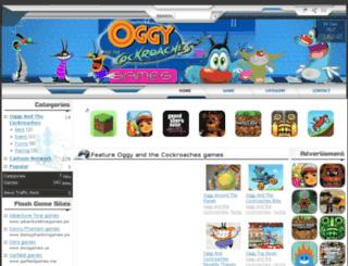 oggycockroachesgames.com screenshot