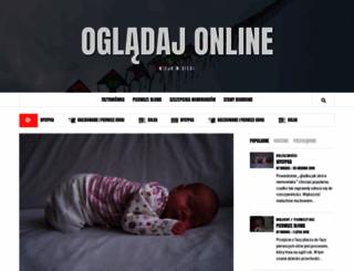 ogladajonline.com.pl screenshot