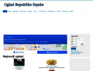 oglasirepublikesrpske.com screenshot