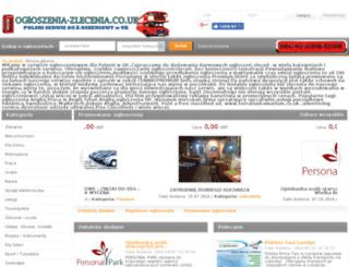 ogloszenia-zlecenia.co.uk screenshot