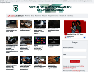 ogloszenia.niedziela.nl screenshot