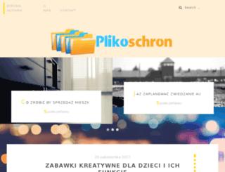 ogloszenia.plikoschron.pl screenshot