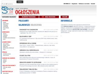 ogloszenia.swiecie24.pl screenshot