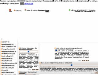 ogloszeniamalopolska.pl screenshot