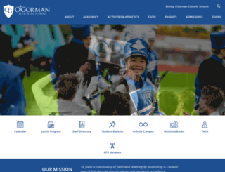 ogorman.sfcss.org screenshot