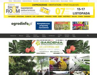 ogrodinfo.pl screenshot