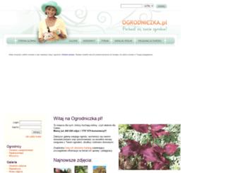 ogrodniczka.pl screenshot