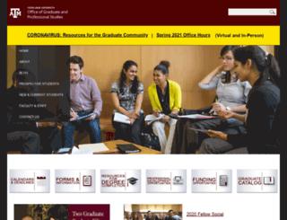 ogs.tamu.edu screenshot