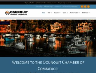ogunquit.org screenshot