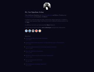 oguzhanaslan.com.tr screenshot