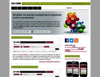 oh-crm.com screenshot