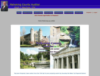 oh-mahoning-auditor.publicaccessnow.com screenshot