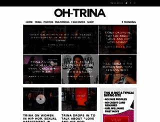 oh-trina.com screenshot