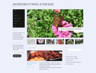 ohchristineyi.wordpress.com screenshot