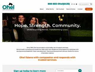ohelfamily.org screenshot