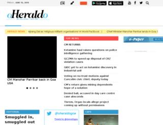 oheraldo.in screenshot