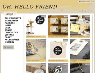 ohhellofriend.storenvy.com screenshot