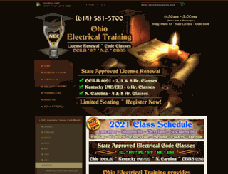 ohio-electrical-training.com screenshot