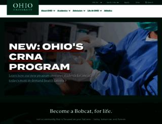 ohio.edu screenshot
