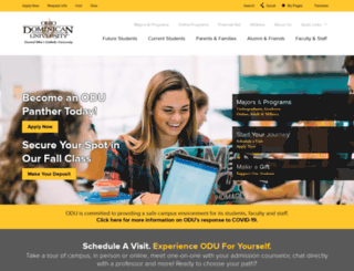 ohiodominican.edu screenshot