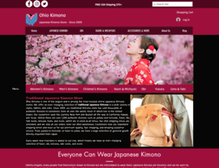 ohiokimono.com screenshot