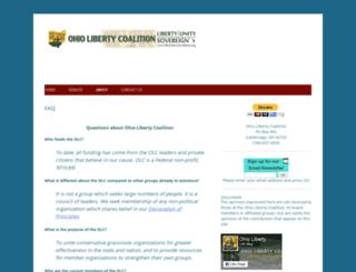 ohiolibertycoalition.com screenshot