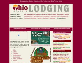 ohiolodgingrentals.com screenshot