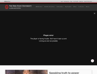 ohiostatealumni.org screenshot