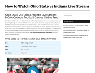 ohiostatefootballlive.com screenshot