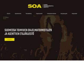 ohjelmatoimistot.fi screenshot