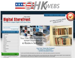ohkwebs.com screenshot