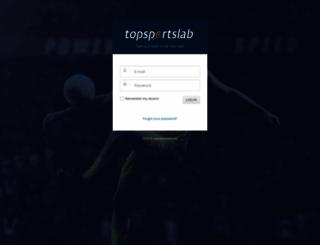 ohl.topsportslab.com screenshot