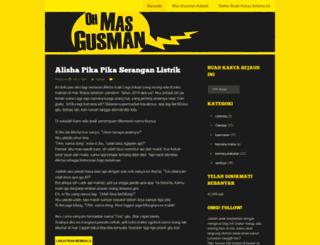 ohmasgusman.wordpress.com screenshot