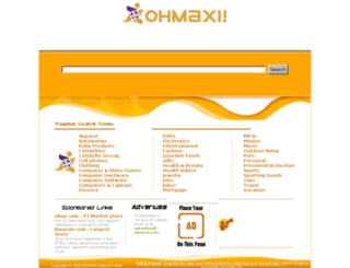 ohmaxi.com screenshot