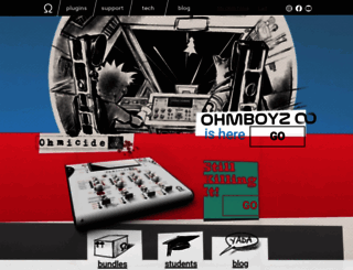 ohmforce.com screenshot