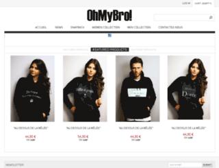 ohmybro.com screenshot