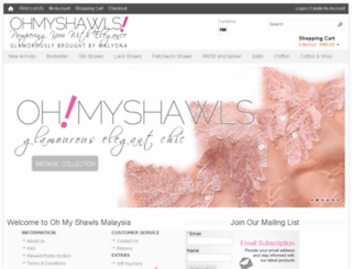 ohmyshawls.com screenshot