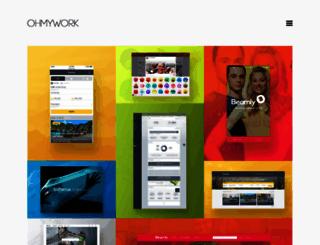 ohmywork.com screenshot