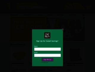 ohnuts.com screenshot