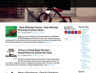 ohrubbishblog.com screenshot