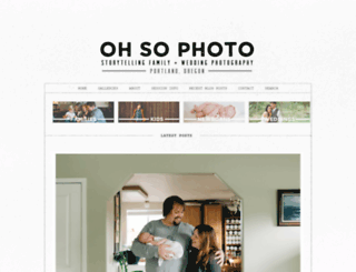 ohsophoto.com screenshot