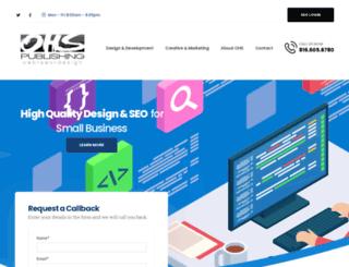 ohspublishing.com screenshot