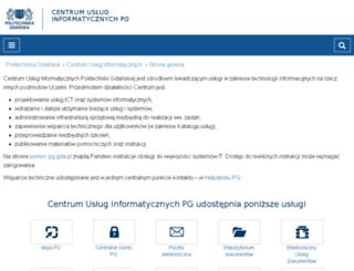 oi.pg.gda.pl screenshot