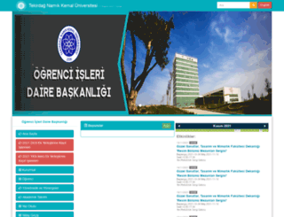 oidb.nku.edu.tr screenshot