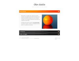 oieranton.es screenshot
