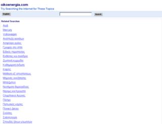 oikoenergia.com screenshot